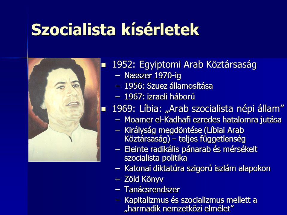 Szocialista kísérletek