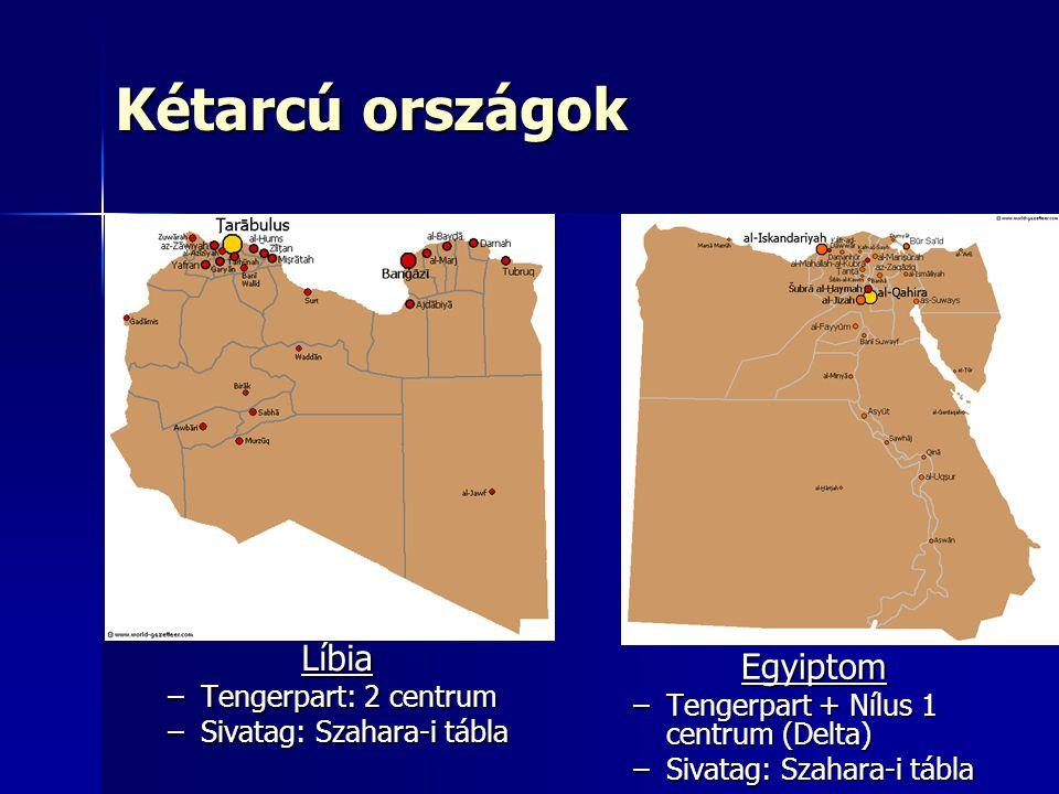 Kétarcú országok Líbia Egyiptom Tengerpart: 2 centrum
