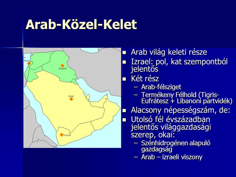 Arab-Közel-Kelet Arab világ keleti része
