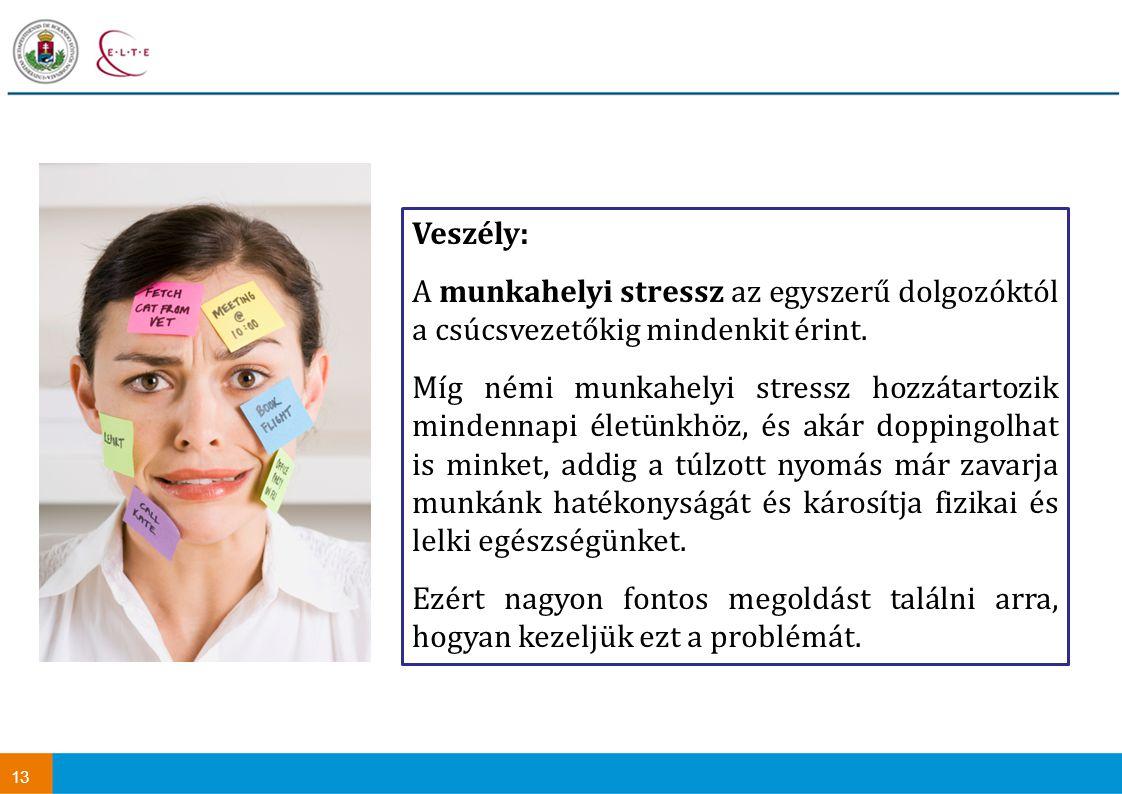 Veszély: A munkahelyi stressz az egyszerű dolgozóktól a csúcsvezetőkig mindenkit érint.