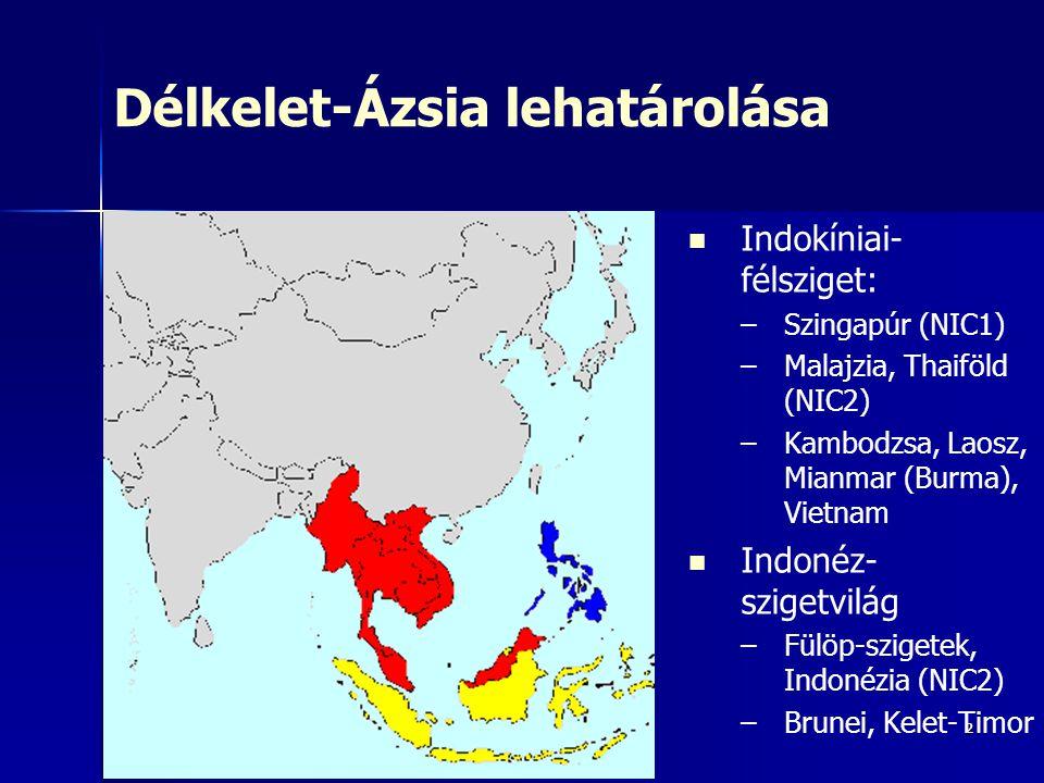Délkelet-Ázsia lehatárolása