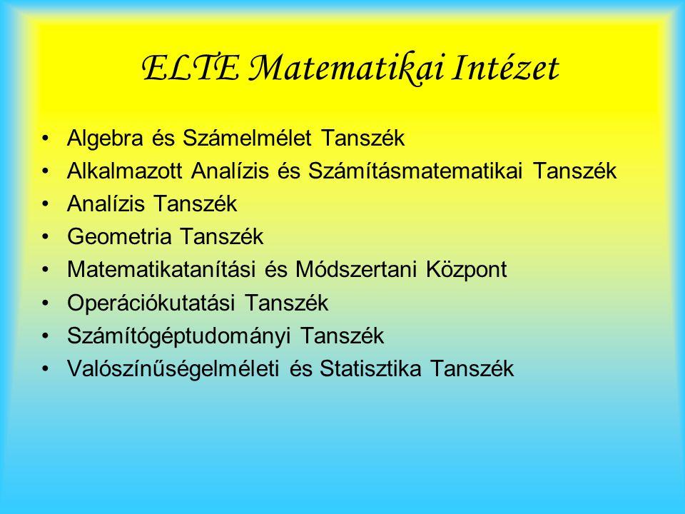 ELTE Matematikai Intézet