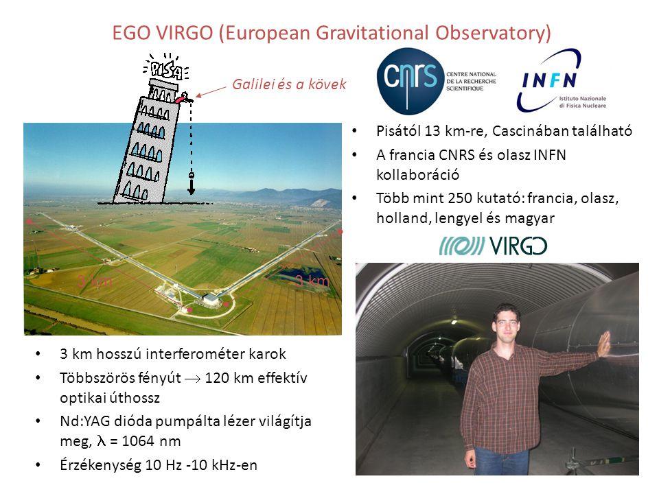 EGO VIRGO (European Gravitational Observatory)