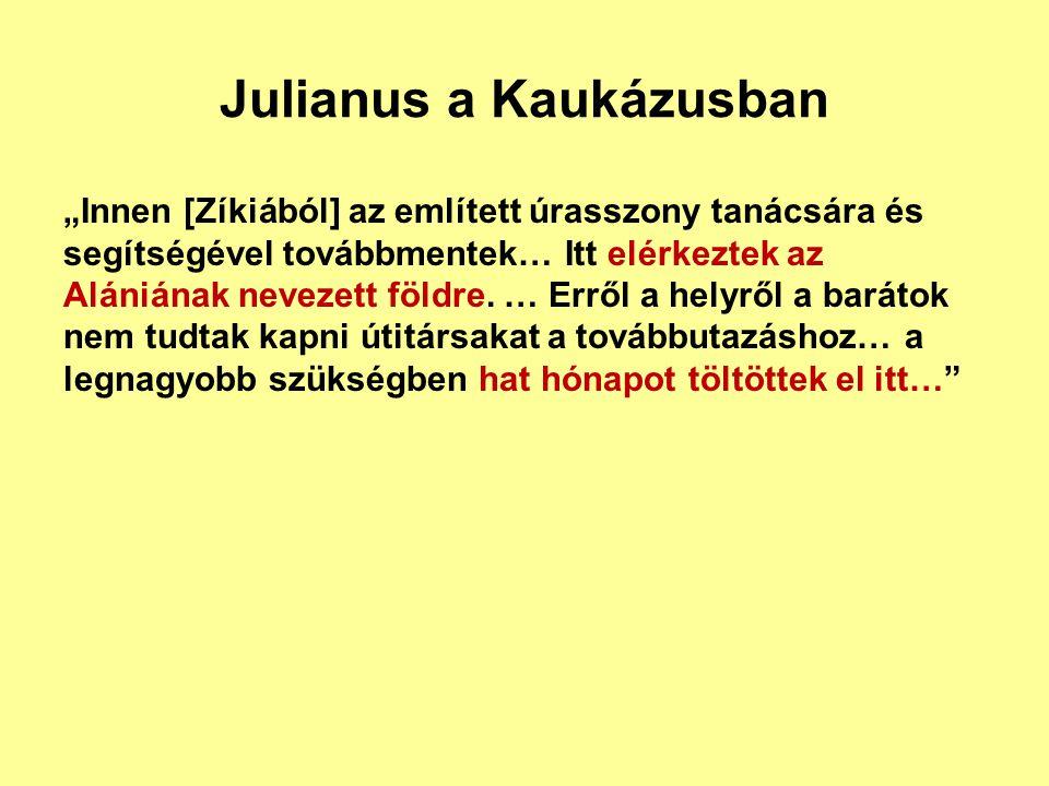 Julianus a Kaukázusban