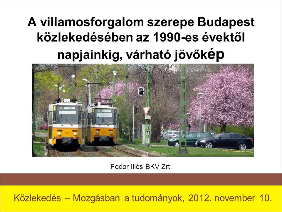 Közlekedés – Mozgásban a tudományok, 2012. november 10.