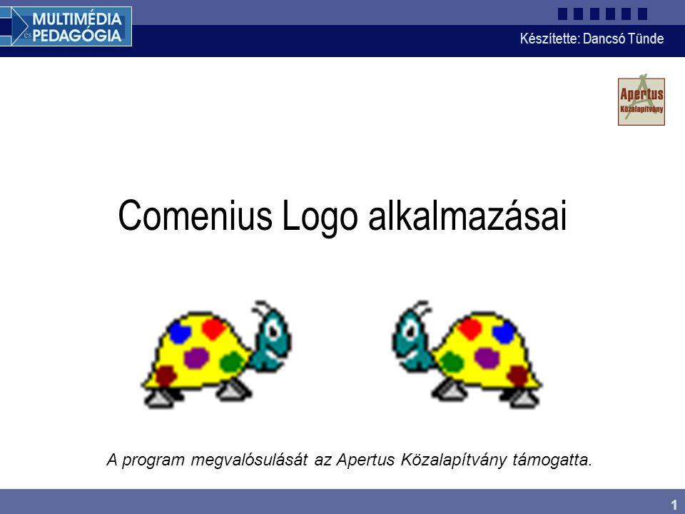 Comenius Logo alkalmazásai