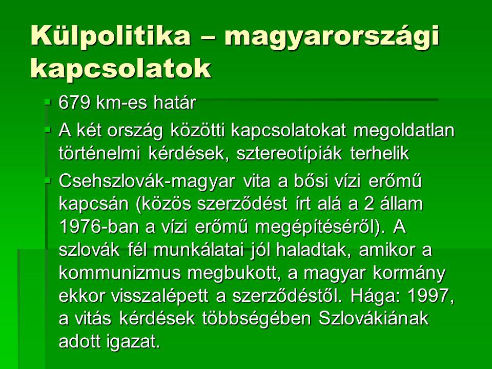 Külpolitika – magyarországi kapcsolatok