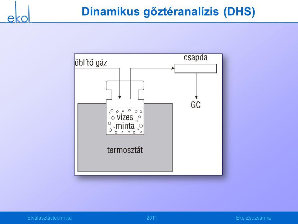 Dinamikus gőztéranalízis (DHS)