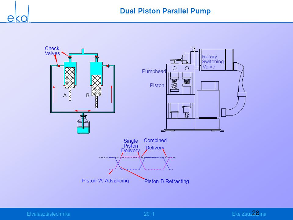 Dual Piston Parallel Pump