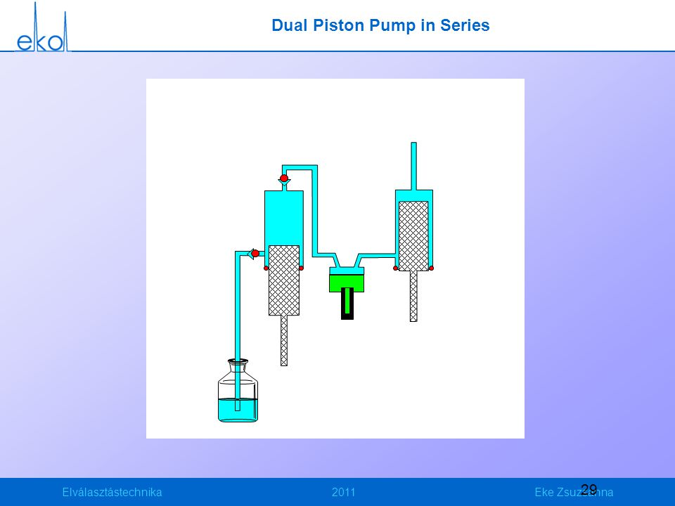 Dual Piston Pump in Series