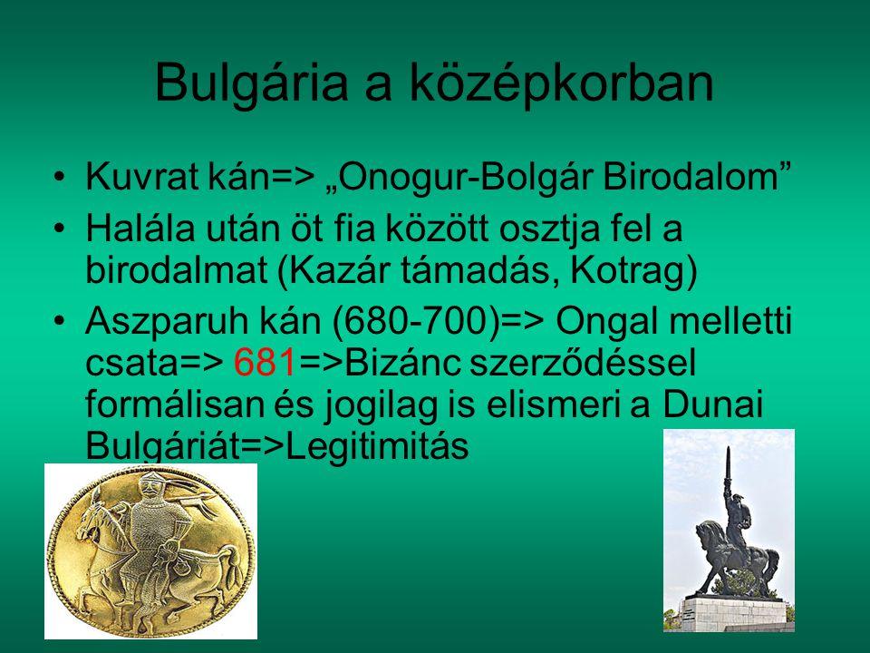 Bulgária a középkorban