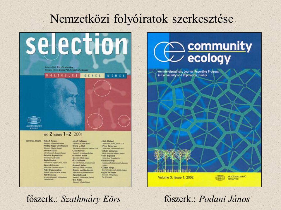 Nemzetközi folyóiratok szerkesztése