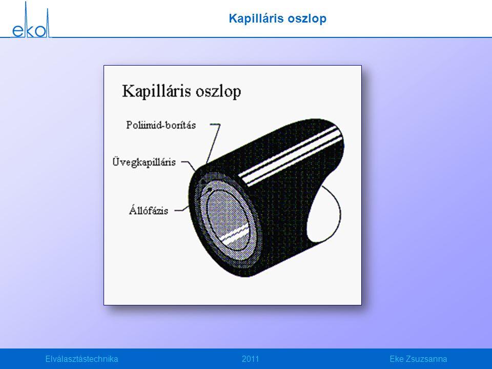 Kapilláris oszlop