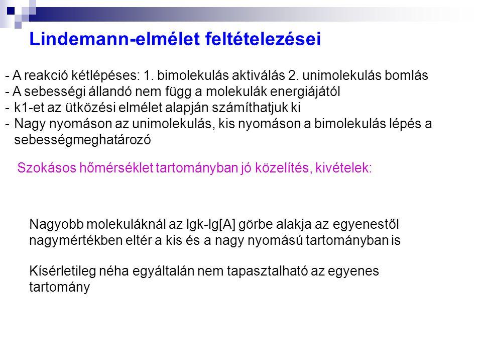 Lindemann-elmélet feltételezései