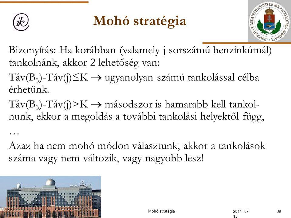 INFOÉRA 2006 2006.11.18. Mohó stratégia.