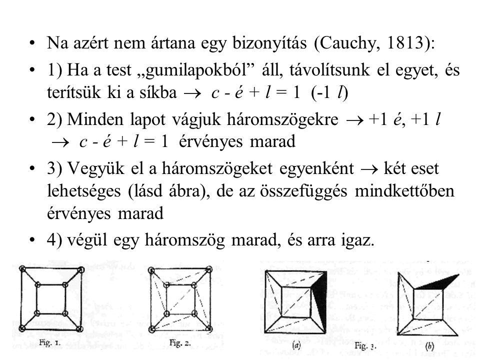 Na azért nem ártana egy bizonyítás (Cauchy, 1813):