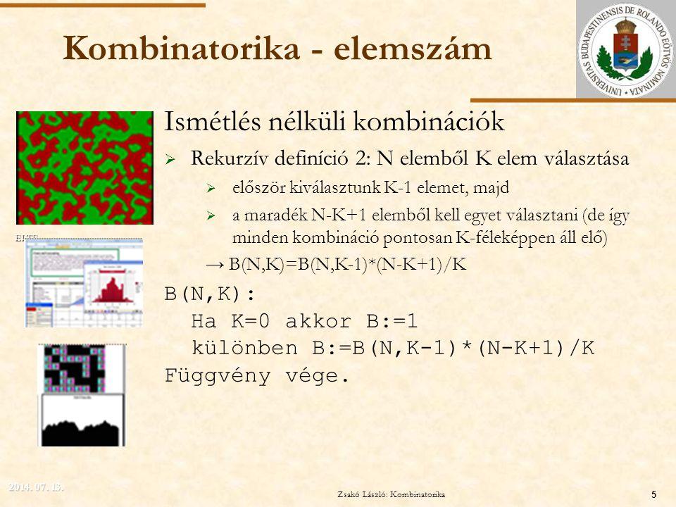 Kombinatorika - elemszám