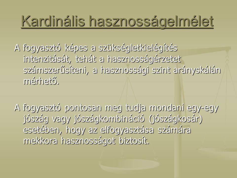 Kardinális hasznosságelmélet
