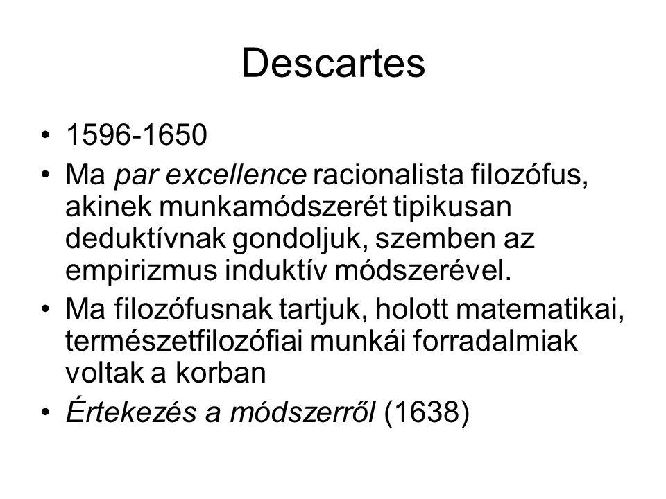 Descartes 1596-1650.