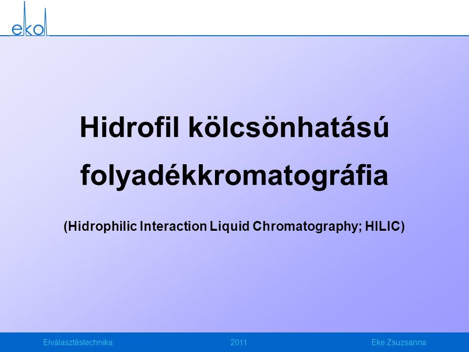 Hidrofil kölcsönhatású folyadékkromatográfia