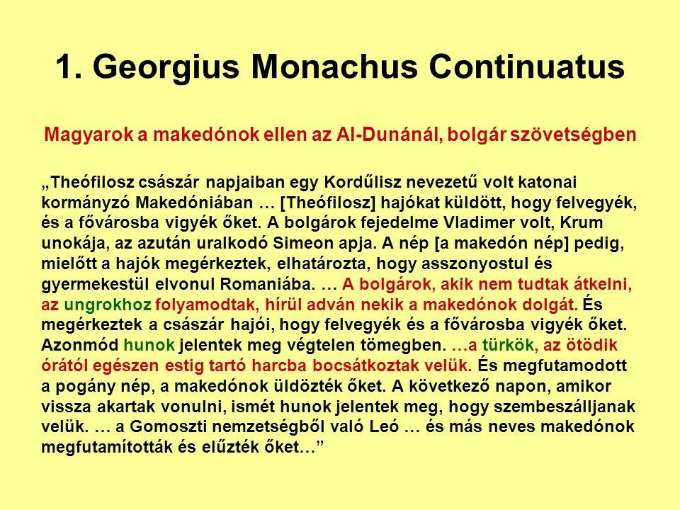 1. Georgius Monachus Continuatus