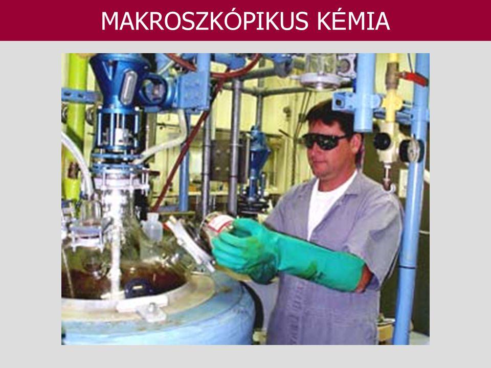 MAKROSZKÓPIKUS KÉMIA