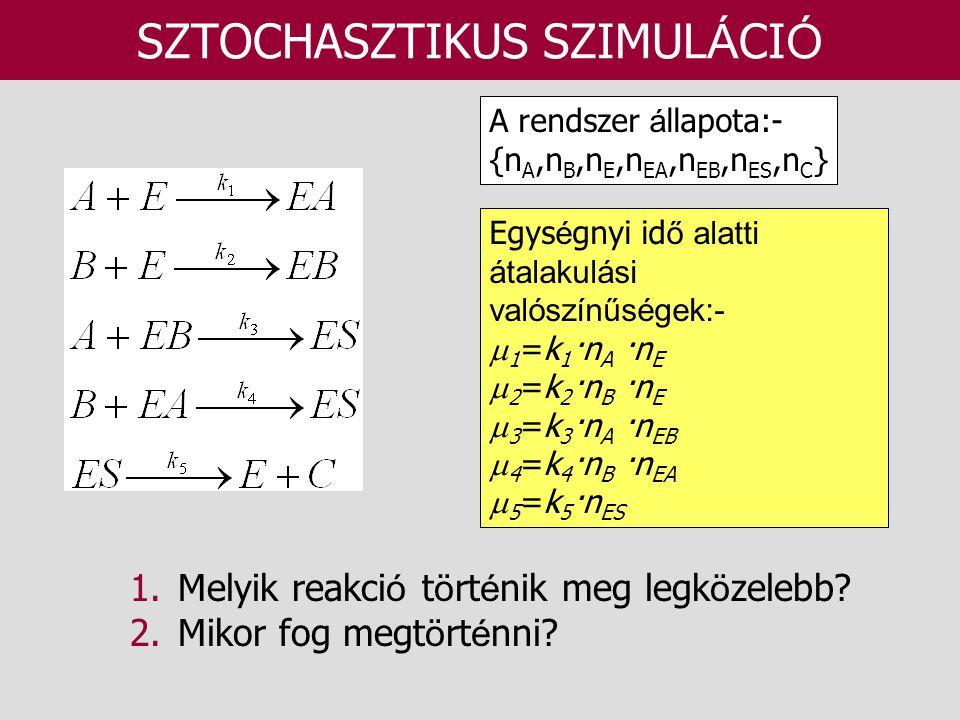 SZTOCHASZTIKUS SZIMULÁCIÓ