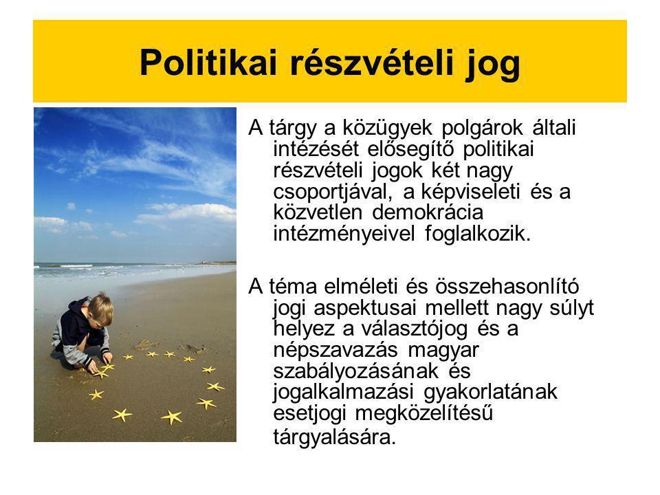 Politikai részvételi jog