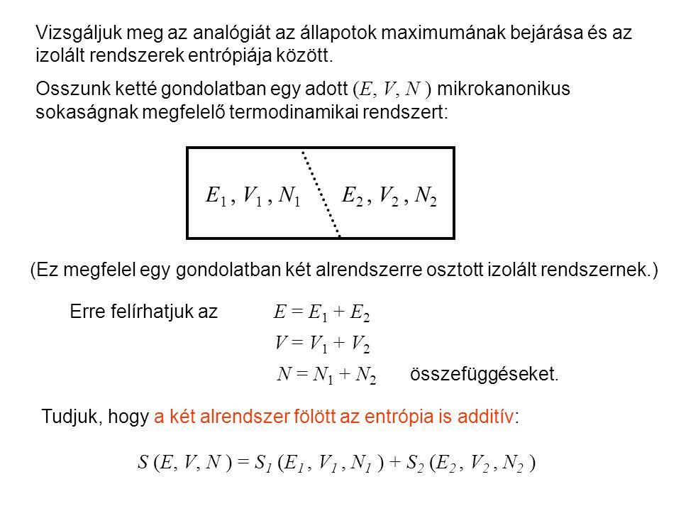 Mikrokanonikus entrópia 1