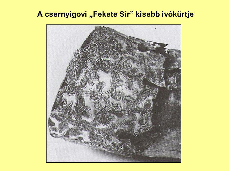 """A csernyigovi """"Fekete Sír kisebb ivókürtje"""