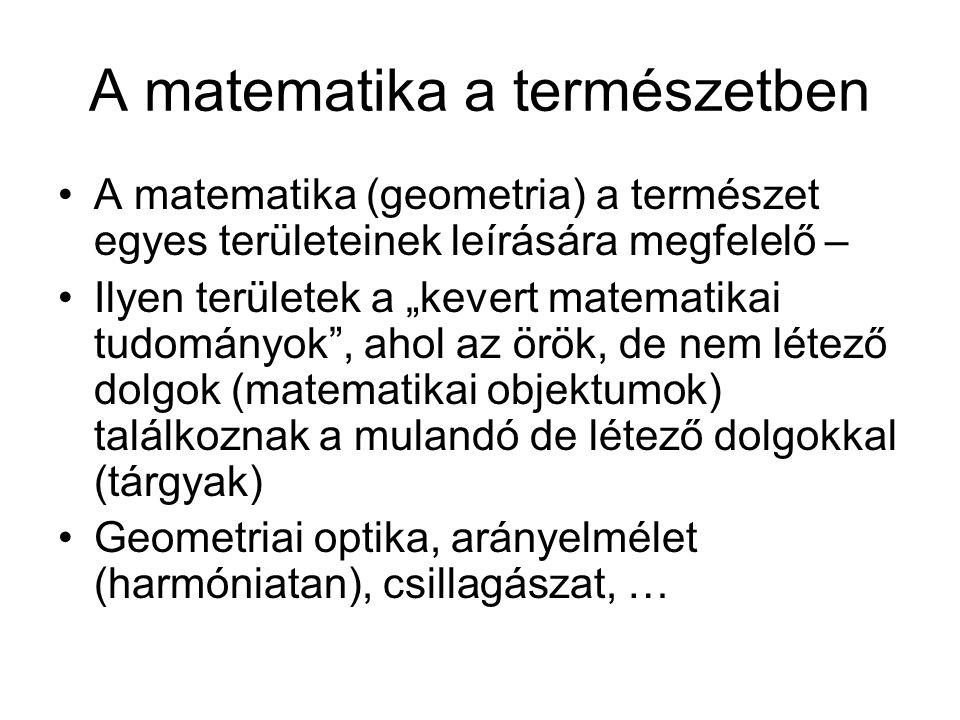 A matematika a természetben