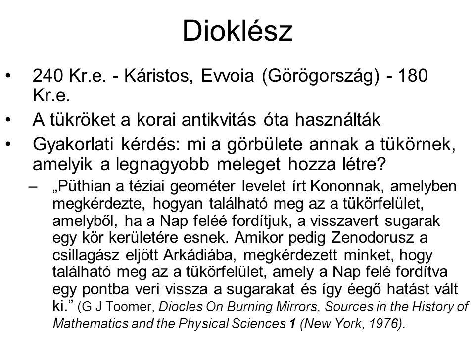 Dioklész 240 Kr.e. - Káristos, Evvoia (Görögország) - 180 Kr.e.