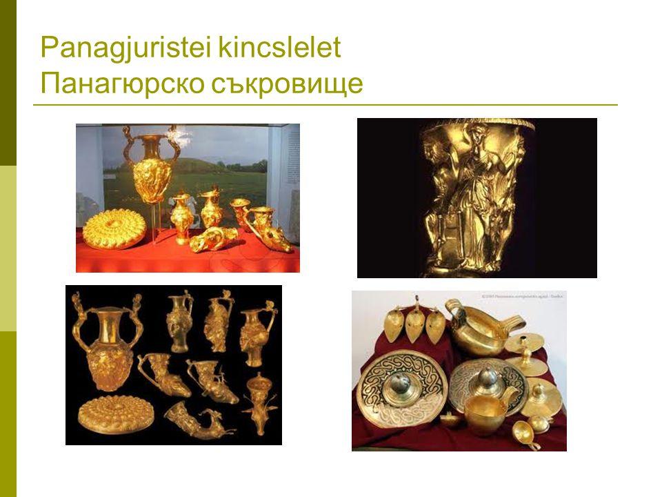 Panagjuristei kincslelet Панагюрско съкровище