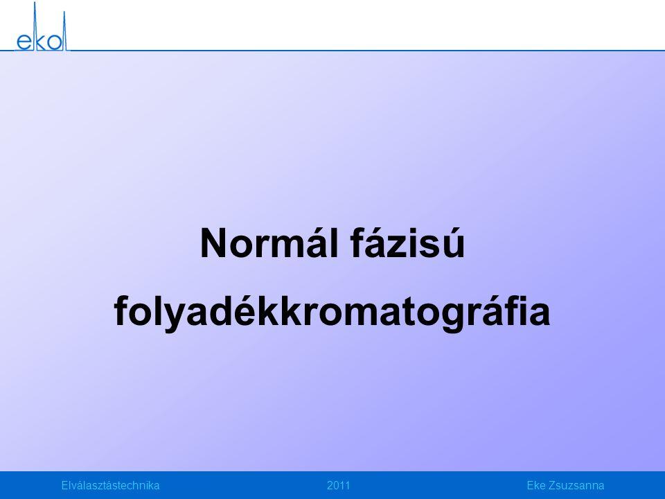 Normál fázisú folyadékkromatográfia