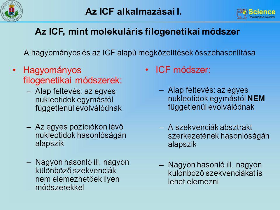 A hagyományos és az ICF alapú megközelítések összehasonlítása