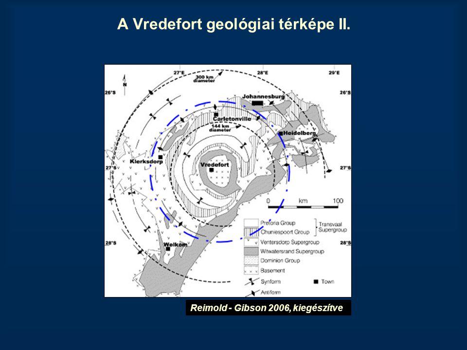 A Vredefort geológiai térképe II.