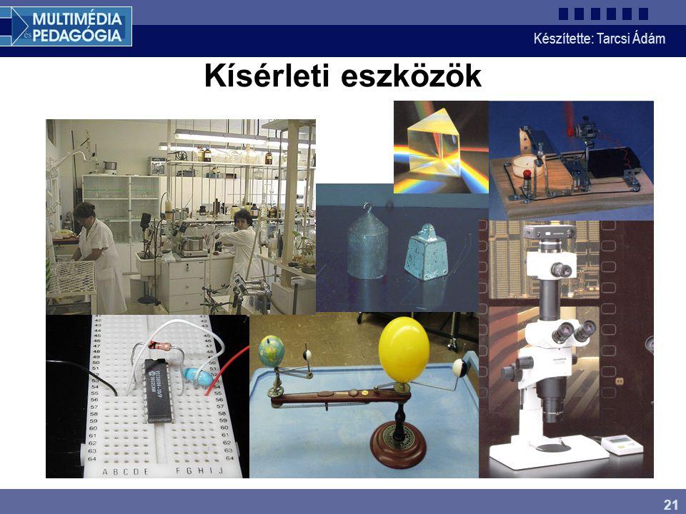 Kísérleti eszközök