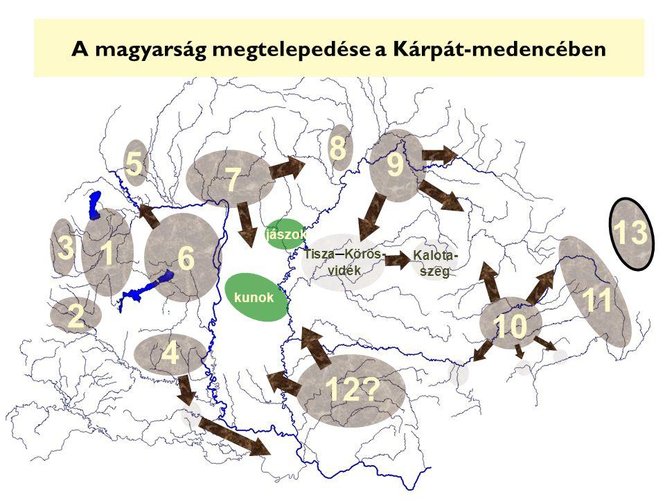 A magyarság megtelepedése a Kárpát-medencében