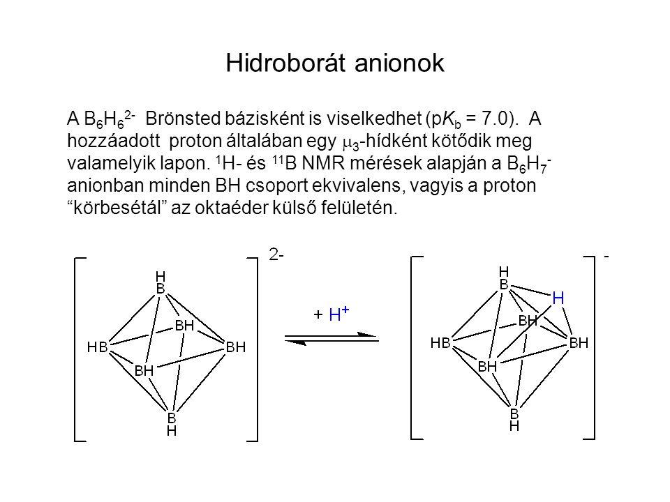 Hidroborát anionok