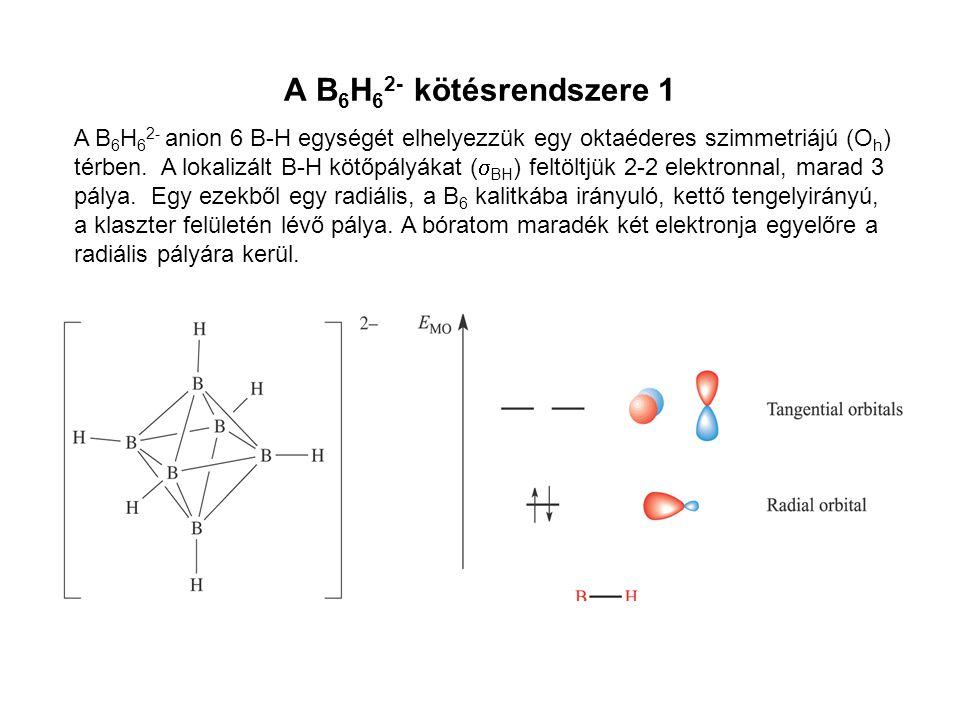 A B6H62- kötésrendszere 1