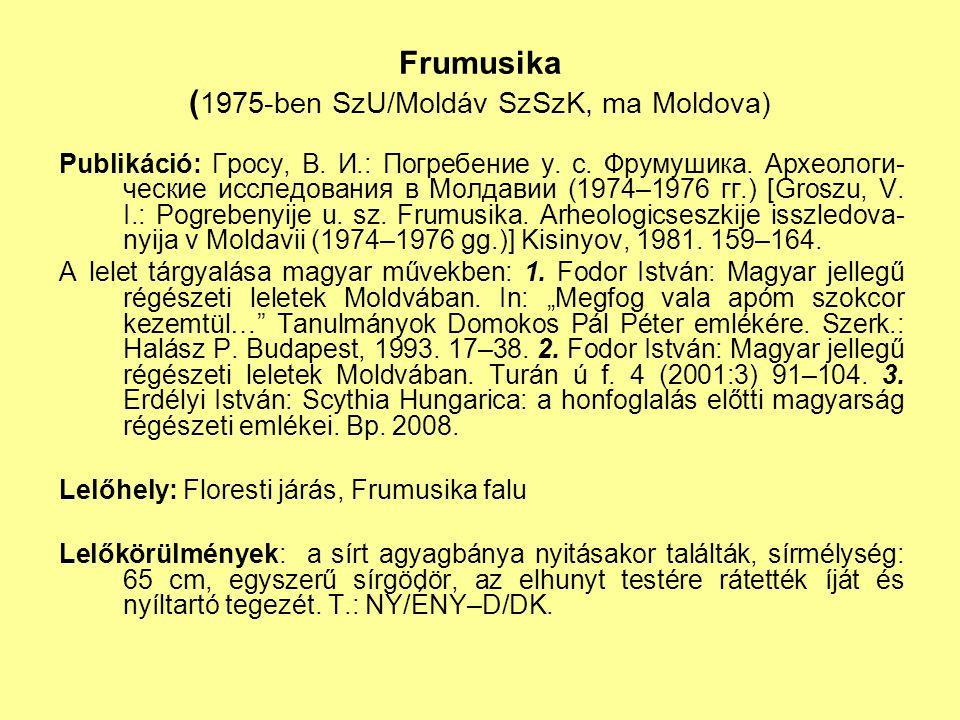 Frumusika (1975-ben SzU/Moldáv SzSzK, ma Moldova)