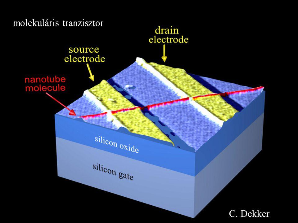 molekuláris tranzisztor