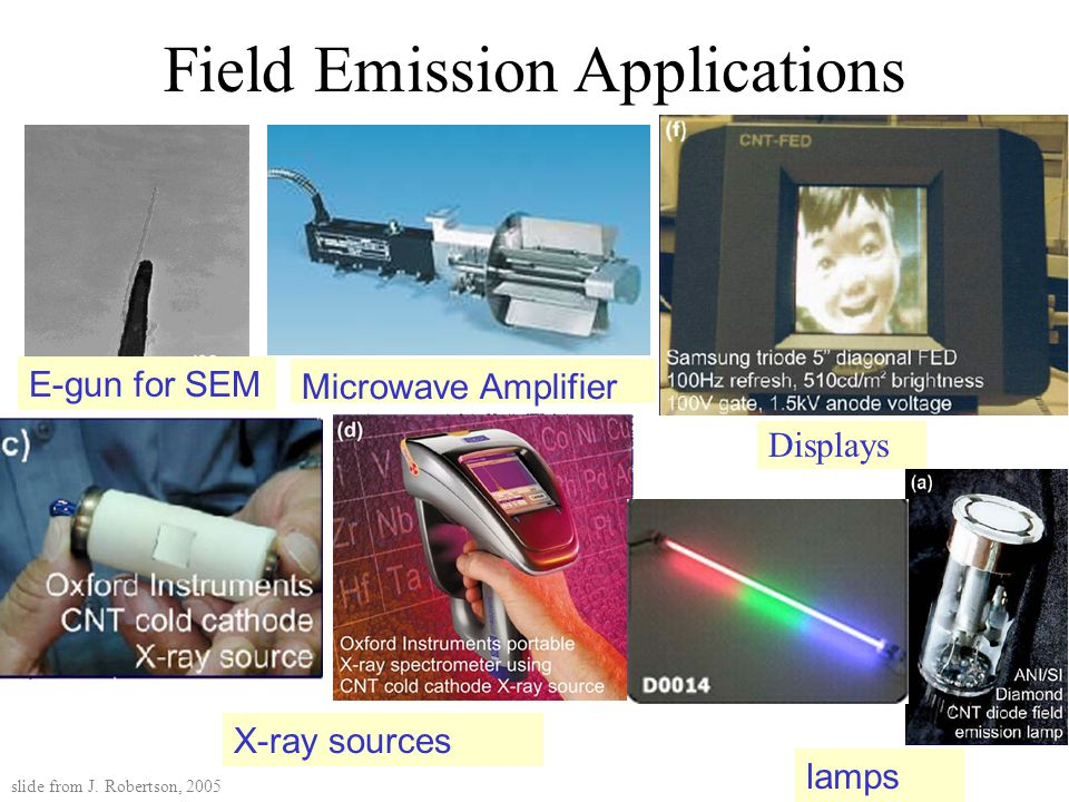 Field Emission Applications