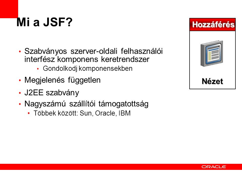 Java Server Faces What is JSF