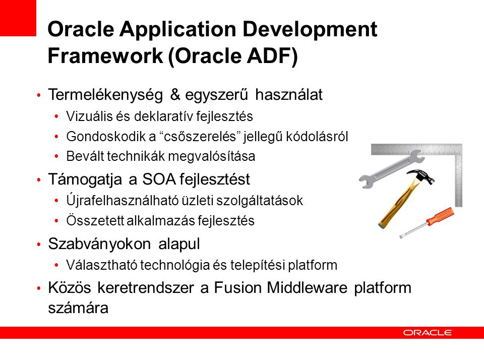 Oracle Application Development Framework (Oracle ADF)‏