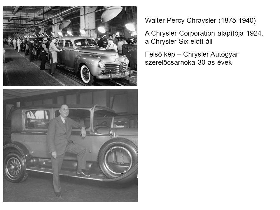 Walter Percy Chraysler (1875-1940)