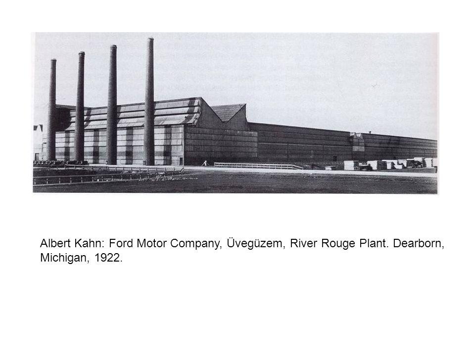 Albert Kahn: Ford Motor Company, Üvegüzem, River Rouge Plant