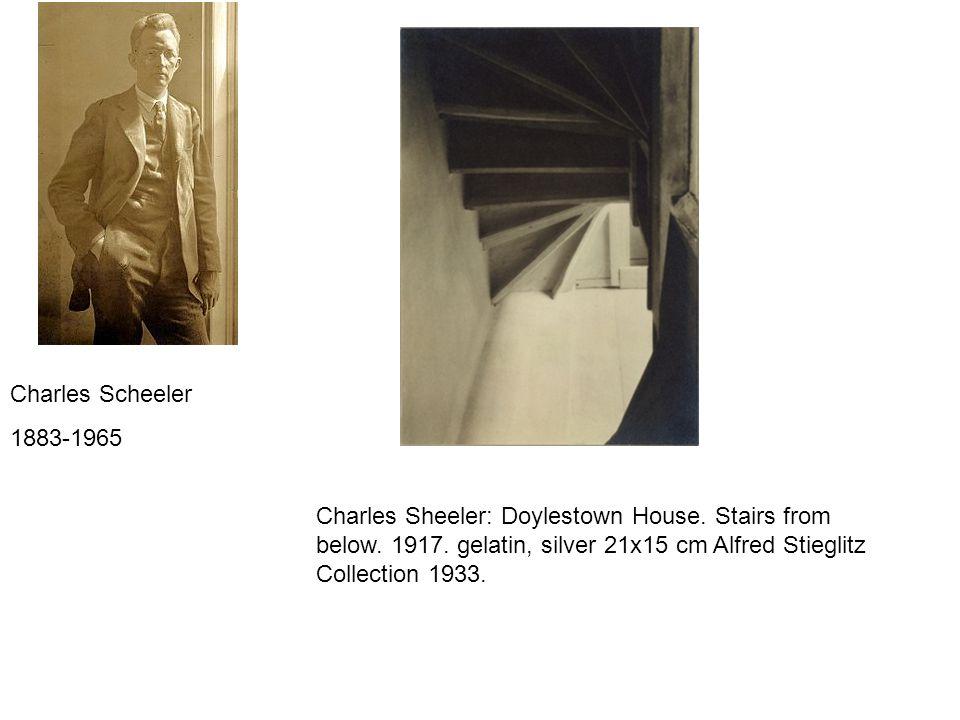 Charles Scheeler 1883-1965. Charles Sheeler: Doylestown House.