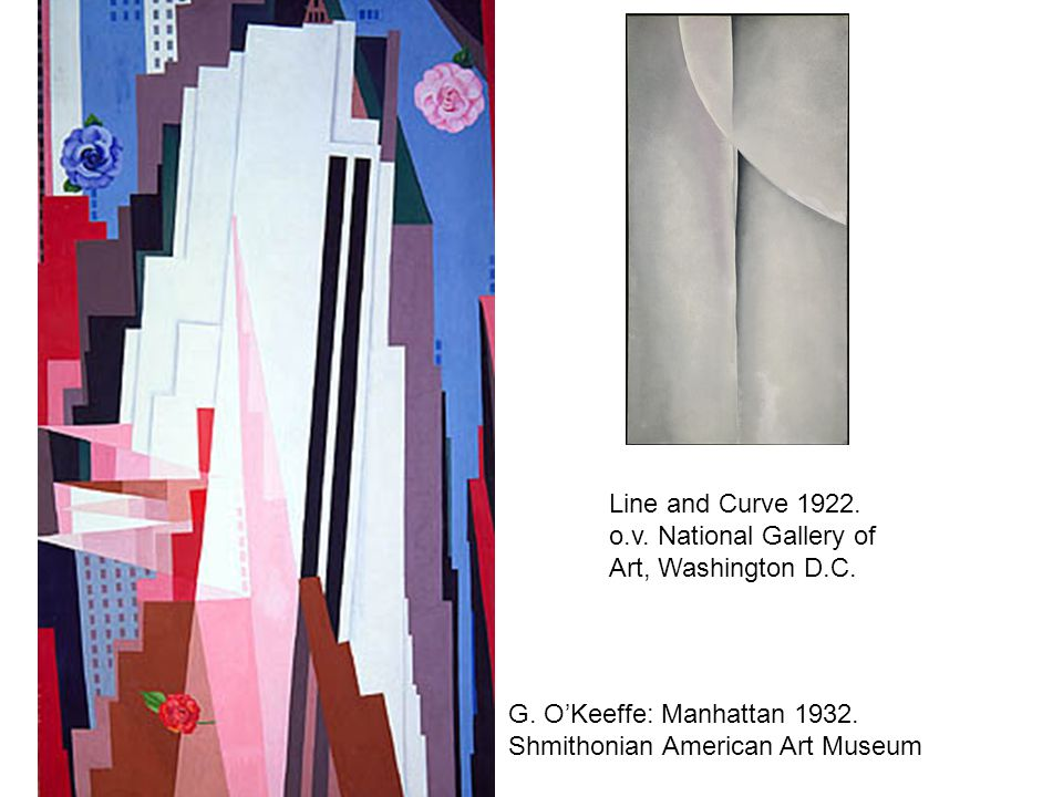 Line and Curve 1922. o.v. National Gallery of Art, Washington D.C.