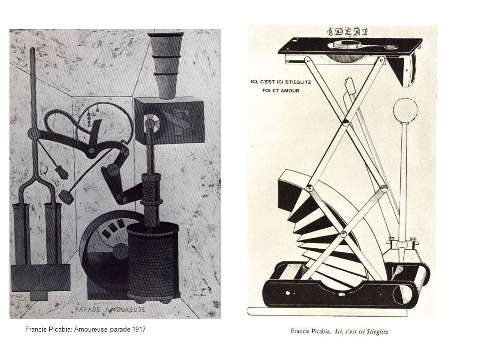 Francis Picabia: Amoureuse parade 1917